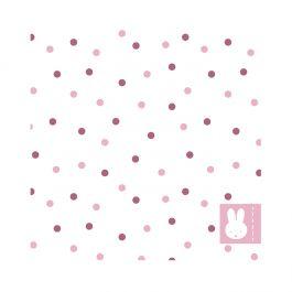 Servetten Nijntje stippen roze (20st)
