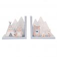 Boekensteun Bear Camp Sass & Belle