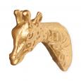 Wandhaak Gio Giraf goud KidsDepot