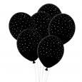 Ballonnen handdrawn dots zwart-wit House of Gia