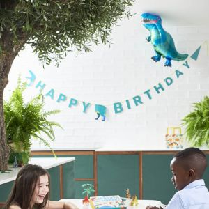 Happy Birthday slinger Party Dinosaurs Talking Tables