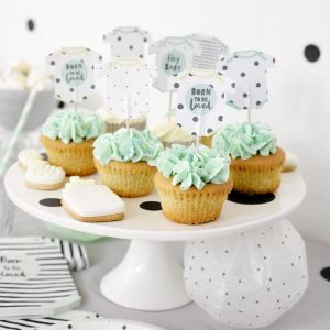Cake toppers Born To Be Loved (12st) Talking Tables