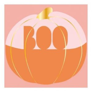 Servetten Boo pumpkin (16st) Talking Tables