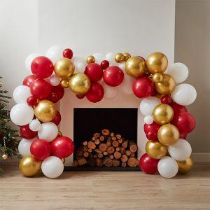 Ballonnenboog goud & rood Merry Everything Ginger Ray