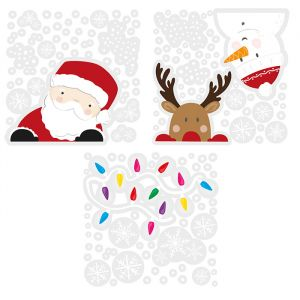 Raamstickers Christmas Character Merry Everything Ginger Ray