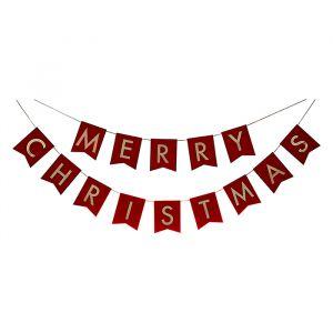 Slinger velvet Merry Christmas Deck The Halls Ginger Ray