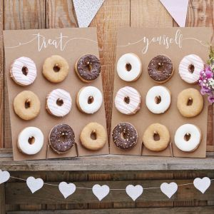 Donut Wall Rustic Country