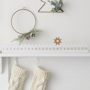 Houten adventskalender A Touch Of Sparkle Ginger Ray