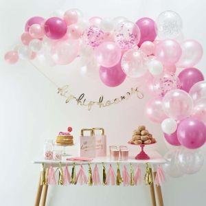 Ballonnenboog Roze Ginger Ray