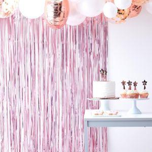Ginger Ray roze feestgordijn Twinkle Twinkle product