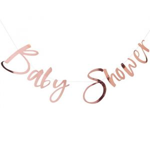 Slinger Babyshower roségoud Twinkle Twinkle Ginger Ray