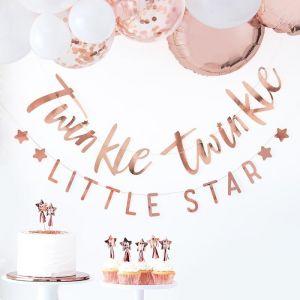 Slinger roségoud Twinkle Twinkle Ginger Ray sfeer
