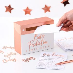 Babyshower spel voorspellingen Twinkle Twinkle Ginger Ray product