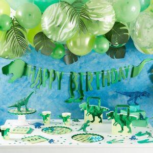 Dinosaurus slinger Happy Birthday Roarsome Ginger Ray feest decoratie
