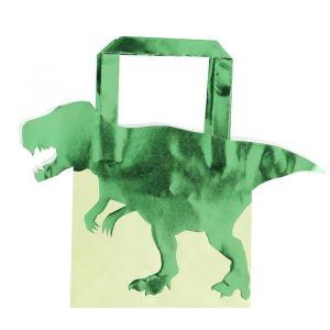 Dinosaurus tasjes Roarsome (5 st) Ginger Ray