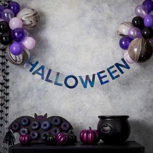 Slinger Halloween iridescent zwart Let's Get Batty