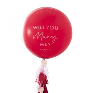 Ballon Will You Marry Me Ginger Ray