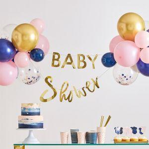 Babyshower slinger met ballonnen Gender Reveal Ginger Ray