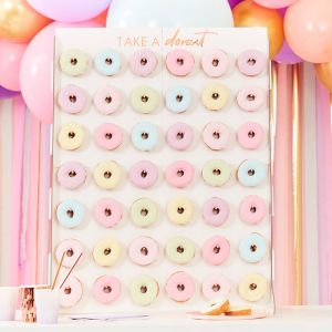Donut wall roze Mix It Up Ginger Ray