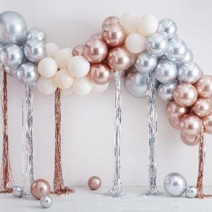 Ballonnenboog metallic & Cream Ginger Ray
