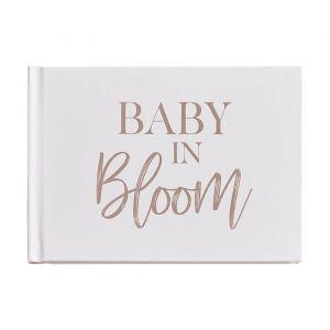 Babyshower gastenboek Baby in Bloom Ginger Ray