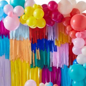 Ballonnenboog en streamers Mix it Up Brights Ginger Ray