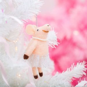Kersthanger ballerina varken vilt Sass & Belle