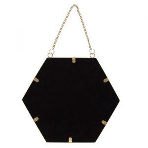 Spiegel hexagon goud (27cm) Sass & Belle