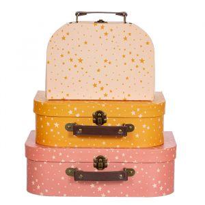 Kofferset Little Stars (3st) Sass & Belle