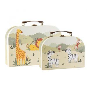 Kofferset Savannah Safari (2st) Sass & Belle