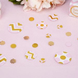 Tafelconfetti roze goud Pattern Works Pink