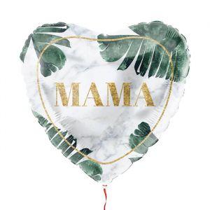 Folieballon moederdag tropische bladeren