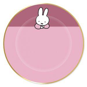 Borden Nijntje roze (8st)