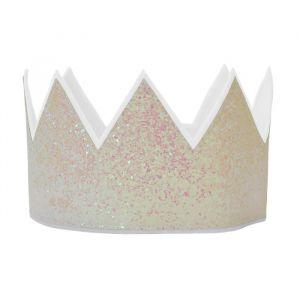 Glitter kroon iridescent verstelbaar Global Affairs