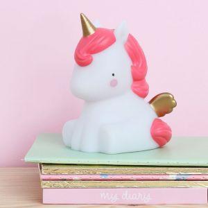 Mini Unicorn Lampje limited edition A Little Lovely Company