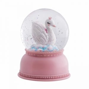 Snowglobe lamp Zwaan A Little Lovely Company