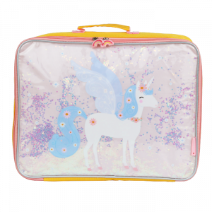 Koffer glitter unicorn A Little Lovely Company