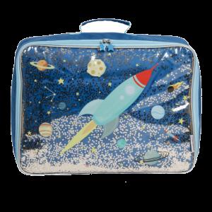 Koffer glitter ruimte A Little Lovely Company