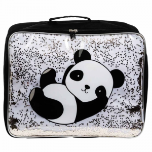 Koffer glitter panda A Little Lovely Company