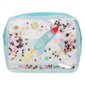 Toilettas glitter ruimte A Little Lovely Company