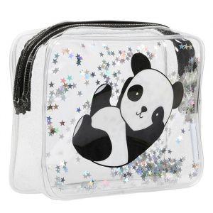 Toilettas glitter panda A Little Lovely Company