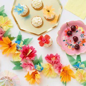 Cupcake set Bright Flower Meri Meri