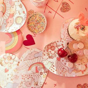 Borden Valentine Doodle (8st) Meri Meri