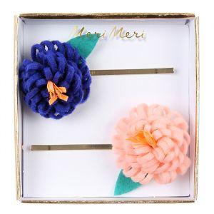 Haarspeldjes Flower Posy (2st) Meri Meri