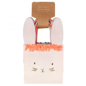 Uitdeeltasjes Spring Bunny (6st) Meri Meri