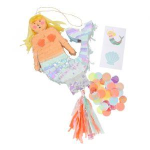 Mini Mermaid pinata Let's be Mermaids Meri Meri