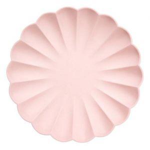 Borden Simply Eco roze (8st) Meri Meri