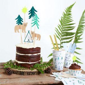 Cake toppers Let's Explore (8st) Meri Meri
