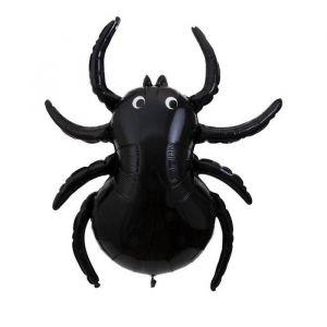 Folieballon zwarte spin (3st) Meri Meri