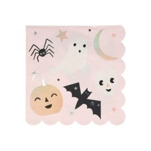 Servetten Pastel Halloween Festive (16st) Meri Meri